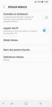 Samsung Galaxy S8 - Android Oreo - Internet - Désactiver du roaming de données - Étape 7