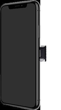 Apple iPhone XS Max - Premiers pas - Insérer la carte SIM - Étape 3