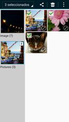 Samsung Galaxy A3 - Bluetooth - Transferir archivos a través de Bluetooth - Paso 9