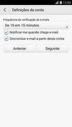 Huawei G620s - Email - Configurar a conta de Email -  19