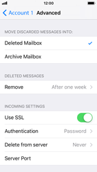 Apple iPhone 5s - iOS 11 - Email - Manual configuration - Step 22