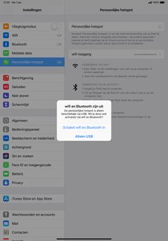 Apple ipad-pro-11-inch-2018-model-a1934 - WiFi - Mobiele hotspot instellen - Stap 7