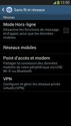 Samsung Galaxy S4 Mini - Internet et connexion - Partager votre connexion en Wi-Fi - Étape 5