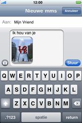Apple iPhone 3G S - MMS - afbeeldingen verzenden - Stap 11