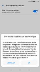 Huawei P10 - Réseau - Sélection manuelle du réseau - Étape 7