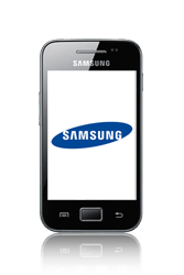 Samsung S5830 Galaxy Ace - Email - manual configuration - Step 1