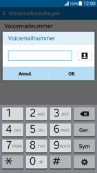 Samsung G530FZ Galaxy Grand Prime - Voicemail - handmatig instellen - Stap 10
