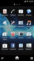 Sony Ericsson Xperia Arc met OS 4 ICS - Internet - Hoe te internetten - Stap 3