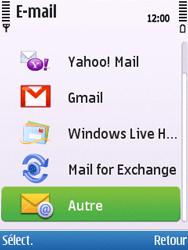 Nokia C5-00 - E-mail - Configuration manuelle - Étape 8