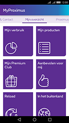 Huawei Y6 II - Applicaties - MyProximus - Stap 13