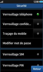 Samsung Wave 2 - Sécuriser votre mobile - Activer le code de verrouillage - Étape 7