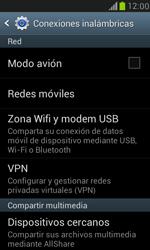 Samsung Galaxy S3 Mini - Funciones básicas - Activar o desactivar el modo avión - Paso 5
