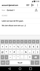 LG G5 SE (H840) - Android Nougat - E-mail - Bericht met attachment versturen - Stap 11