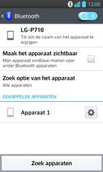 LG P710 Optimus L7 II - Bluetooth - koppelen met ander apparaat - Stap 11