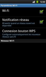 Samsung I9001 Galaxy S Plus - Wifi - configuration manuelle - Étape 5