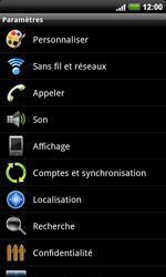 HTC A9191 Desire HD - Internet - activer ou désactiver - Étape 4