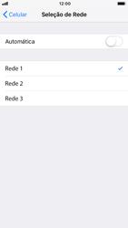 Apple iPhone 7 - iOS 12 - Rede móvel - Como selecionar o tipo de rede adequada - Etapa 7