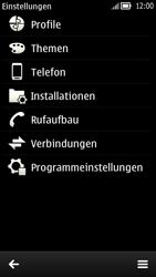 Nokia C7 - Internet - Internetverbindung - Manuelle Einstellung - Schritt 5