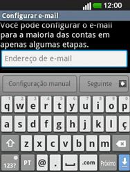 LG E400 - Email - Configurar a conta de Email -  7