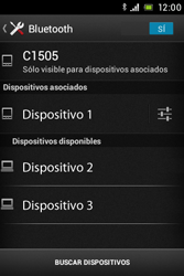 Sony Xperia E - Bluetooth - Conectar dispositivos a través de Bluetooth - Paso 8