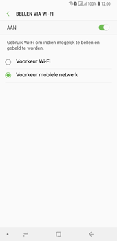 Samsung Galaxy A6 Plus - Bellen - bellen via wifi (VoWifi) - Stap 8