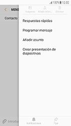 Samsung Galaxy J5 (2017) - Mensajería - Escribir y enviar un mensaje multimedia - Paso 9