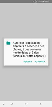 Samsung Galaxy A7 2018 - Contact, Appels, SMS/MMS - Ajouter un contact - Étape 10