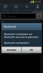 Samsung I9105P Galaxy S II Plus - Contactgegevens overzetten - delen via Bluetooth - Stap 7