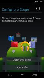 Motorola Moto G - Primeiros passos - Como ativar seu aparelho - Etapa 8