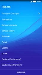 Sony Xperia M4 Aqua - Primeiros passos - Como ligar o telemóvel pela primeira vez -  4