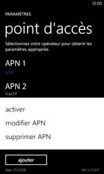 Nokia Lumia 520 - Internet - Configuration manuelle - Étape 20