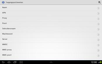 Samsung N8020 Galaxy Note 10-1 LTE - Internet - Handmatig instellen - Stap 9