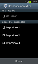 Samsung i8260 Galaxy Core - Bluetooth - Transferir archivos a través de Bluetooth - Paso 12