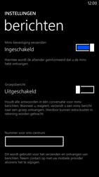 Nokia Lumia 1320 - SMS - handmatig instellen - Stap 8