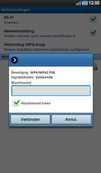 Samsung P1000 Galaxy Tab - WiFi - Handmatig instellen - Stap 8