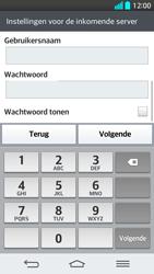 LG G2 - E-mail - Handmatig instellen - Stap 11
