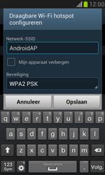 Samsung I8190 Galaxy S III Mini - WiFi - Mobiele hotspot instellen - Stap 8