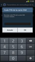 Samsung Galaxy Grand 2 4G - Sécuriser votre mobile - Personnaliser le code PIN de votre carte SIM - Étape 9