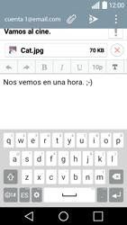 LG Leon - E-mail - Escribir y enviar un correo electrónico - Paso 17