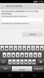 Sony LT30p Xperia T - E-mail - Handmatig instellen - Stap 14