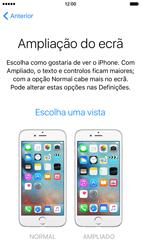 Apple iPhone 6 iOS 9 - Primeiros passos - Como ligar o telemóvel pela primeira vez -  25