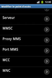 Samsung S5830i Galaxy Ace i - Mms - Configuration manuelle - Étape 11