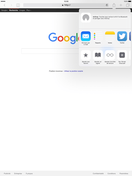 Apple iPad Pro 12.9 (1st gen) - iOS 9 - Internet - Navigation sur internet - Étape 5
