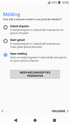 Sony Xperia X Compact - Android Oreo - E-mail - e-mail instellen: POP3 - Stap 20