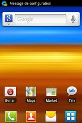 Samsung S5830i Galaxy Ace i - MMS - configuration automatique - Étape 5