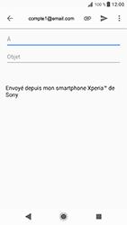 Sony Xperia XZ - Android Oreo - E-mail - envoyer un e-mail - Étape 5