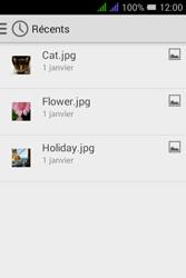 Alcatel Pixi 3 Dual Sim - E-mails - Envoyer un e-mail - Étape 13