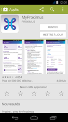 Acer Liquid Jade - Applications - MyProximus - Étape 8