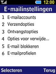 Samsung Xcover 550 (B550H) - E-mail - Account instellen (POP3 zonder SMTP-verificatie) - Stap 17
