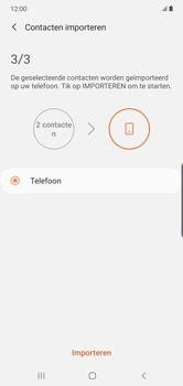 Samsung galaxy-note-10-plus-single-sim-sm-n975f - Contacten en data - Contacten kopiëren van SIM naar toestel - Stap 12